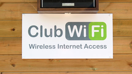 riverside holiday park club wifi