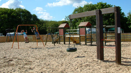 riverside holiday park play area