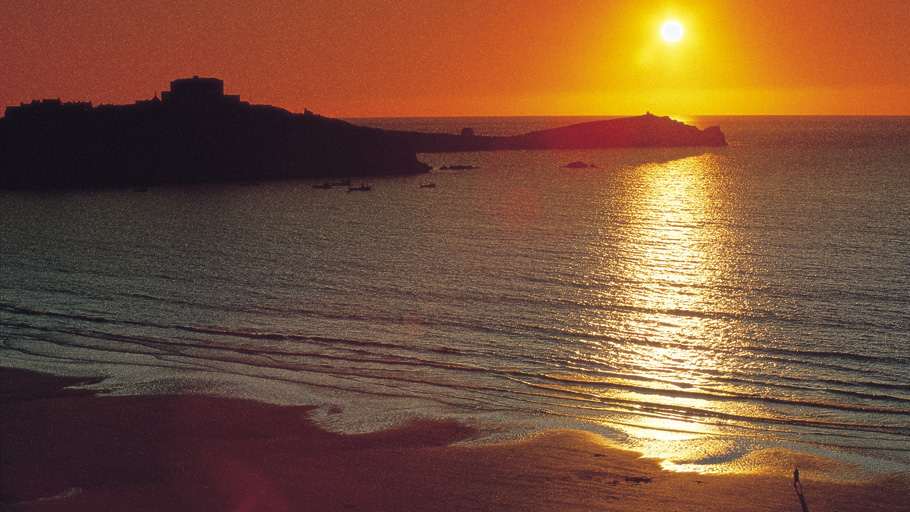 Newquay Bay Sunset