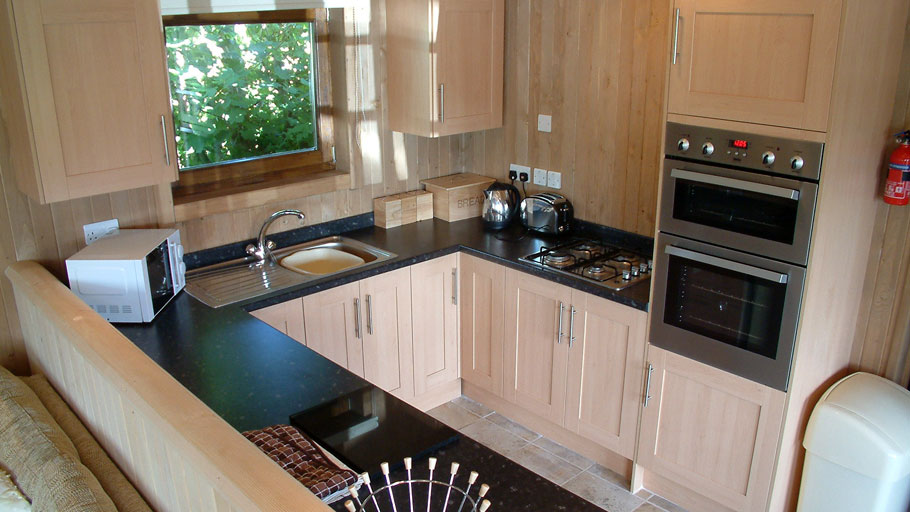 Trevilley cabin kitchen